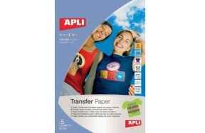 TRANSFER PAPER FOR COLOURED T-SHIRTS